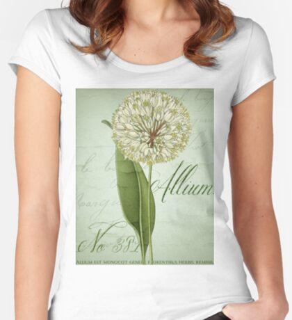 Allium II Women's Fitted Scoop T-Shirt