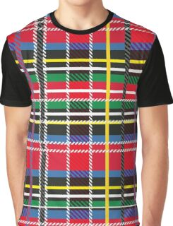 Red, blue, green tartan Graphic T-Shirt