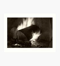 Home Fires Art Print