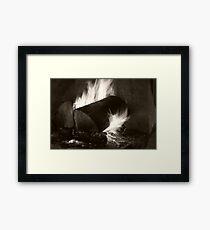 Home Fires Framed Print