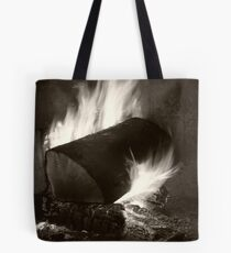 Home Fires Tote Bag