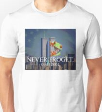 Never Froget 9/11/2001 T-Shirt