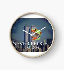 Never Froget 9/11/2001 Clock