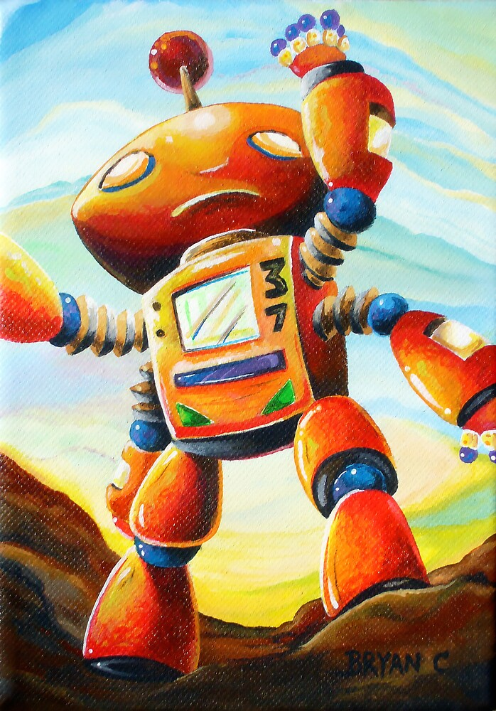 Randall's Robot by Bryan Collins