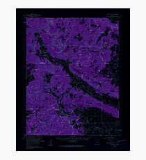 USGS TOPO Map Colorado CO Slick Rock 402622 1960 62500 Inverted Photographic Print