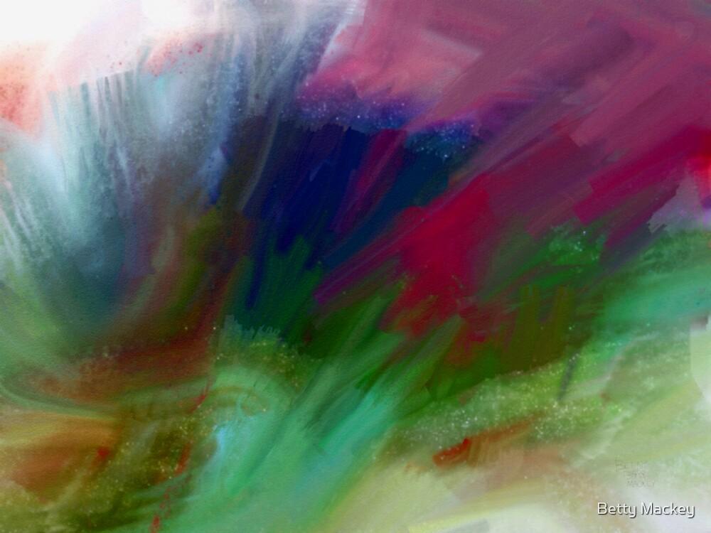 Gray Splash by Betty Mackey