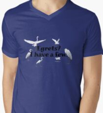 Egrets? I have a few Mens V-Neck T-Shirt