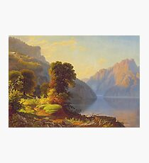 George Caleb Bingham - A View Of A Lake In The Mountainscirca 1856 Photographic Print