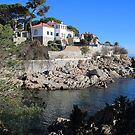 The coastal path St Agaro Spain. by Paul Pasco