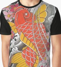 Koi x Sakura Graphic T-Shirt