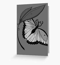 Tentacle Butterfly Greeting Card