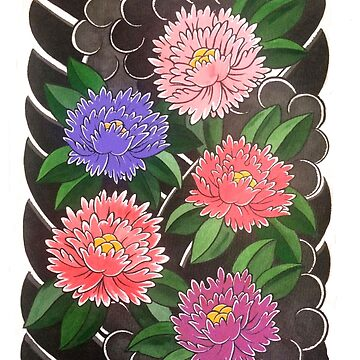 Peony pattern by chris3290