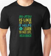 Brazilian Jiu-Jitsu Helio Philosophy Unisex T-Shirt