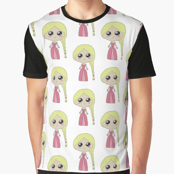 Kawaii Chibi Princess Graphic T-Shirt