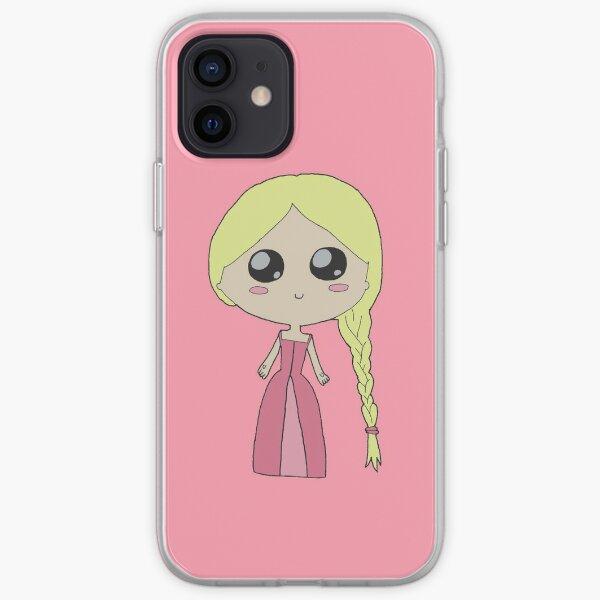 Kawaii Chibi Princess iPhone Soft Case