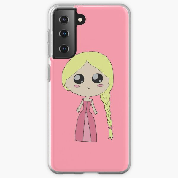 Kawaii Chibi Princess Samsung Galaxy Soft Case