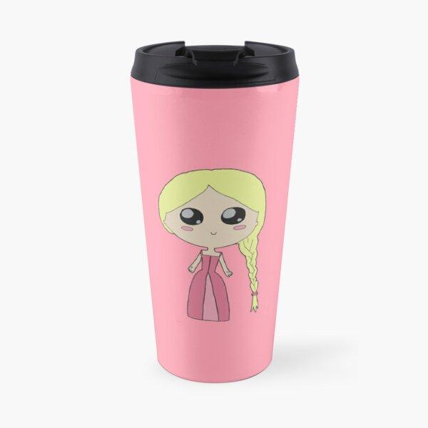 Kawaii Chibi Princess Travel Mug