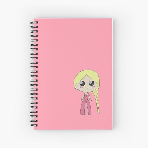 Kawaii Chibi Princess Spiral Notebook