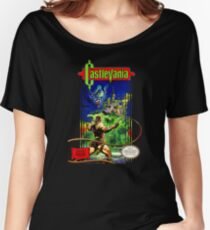 Classic Castlevania NES Women's Relaxed Fit T-Shirt