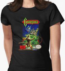 Classic Castlevania NES Womens Fitted T-Shirt