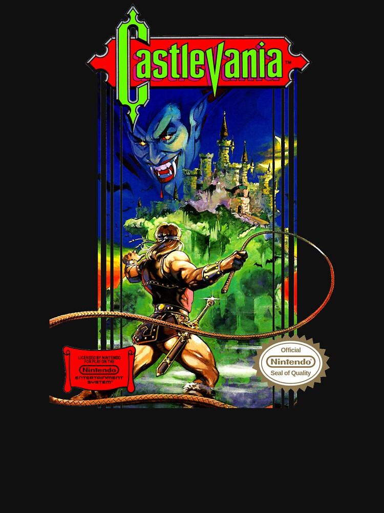 Classic Castlevania NES by RetroGamezzz