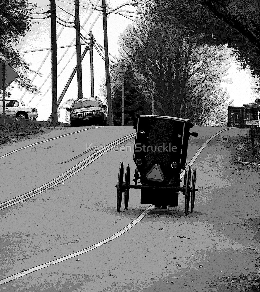 Buggy Ride To Town by Kathleen Struckle