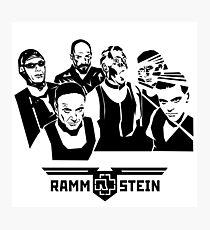 ROCK BAND RAMMSTEIN KADAL4 Photographic Print
