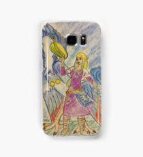 Tribute to Zelda of Skyloft Samsung Galaxy Case/Skin