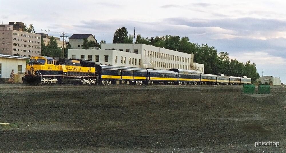 Anchorage, AK Train yard by pbischop