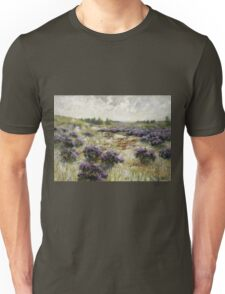 George Hitchcock - Field Of Heather Unisex T-Shirt