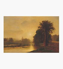 George Inness - Autumn Meadows Photographic Print