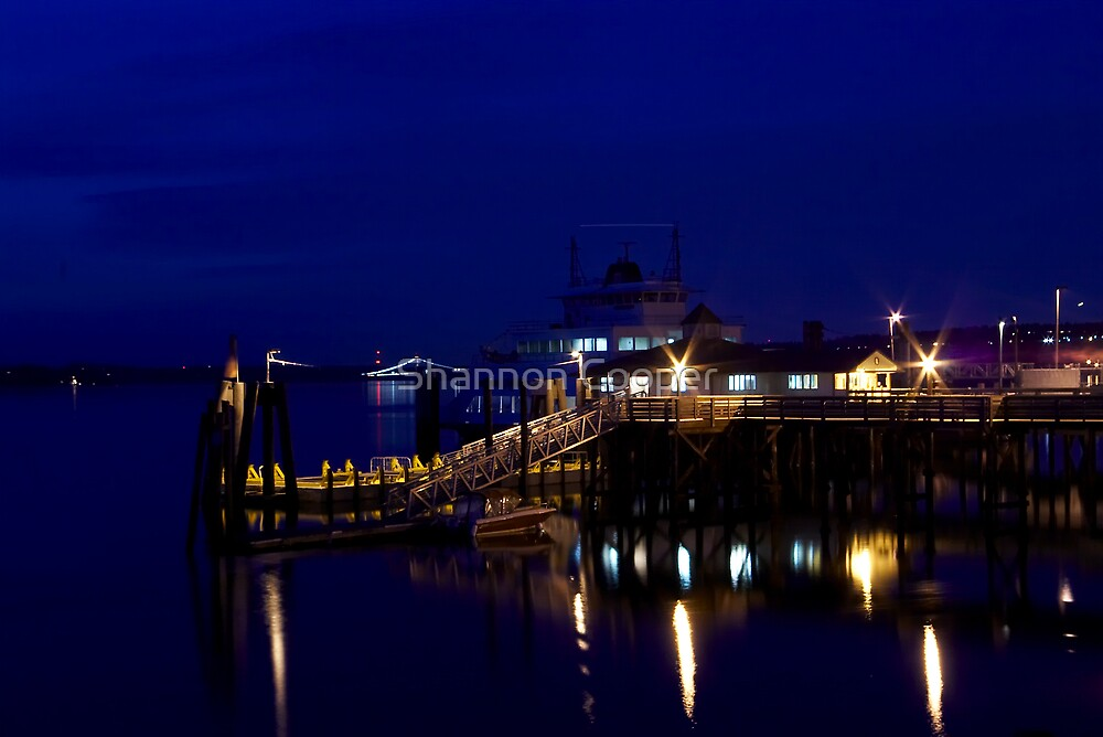 Steilacoom by Night by Shannon Beauford