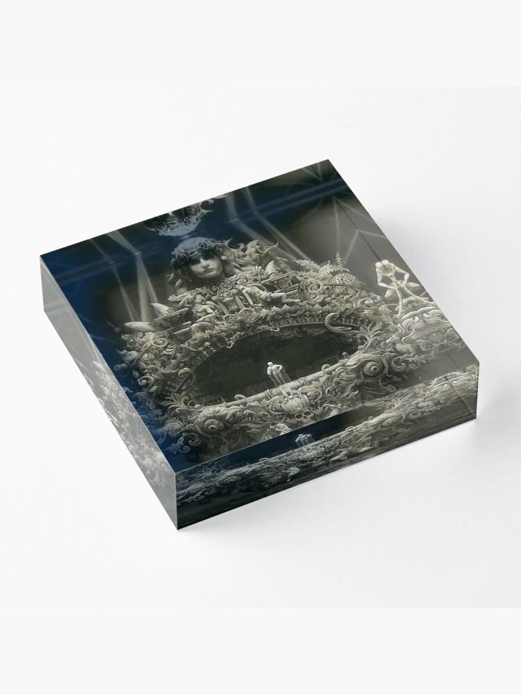Alternative Ansicht von schwarze Segel Acrylblock