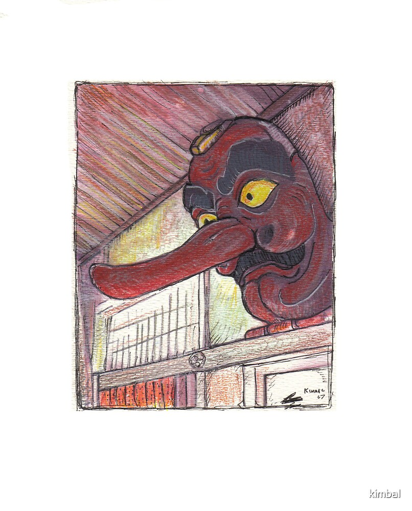 tengu mask by kimbal