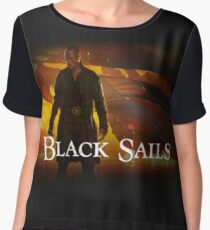 black sails Chiffon Top
