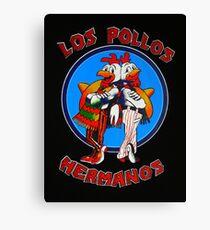 LOGO LOS POLLOS HERMANOS Canvas Print
