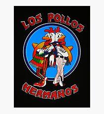 LOGO LOS POLLOS HERMANOS Photographic Print
