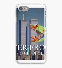 Never Froget 9/11/2001 iPhone Case/Skin