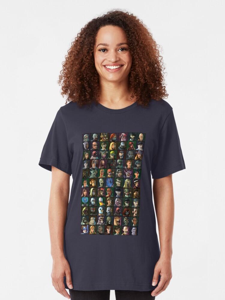 Vista alternativa de Camiseta ajustada Personajes de TimeSplitters 2