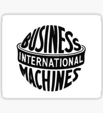 IBM Old Logo Sticker
