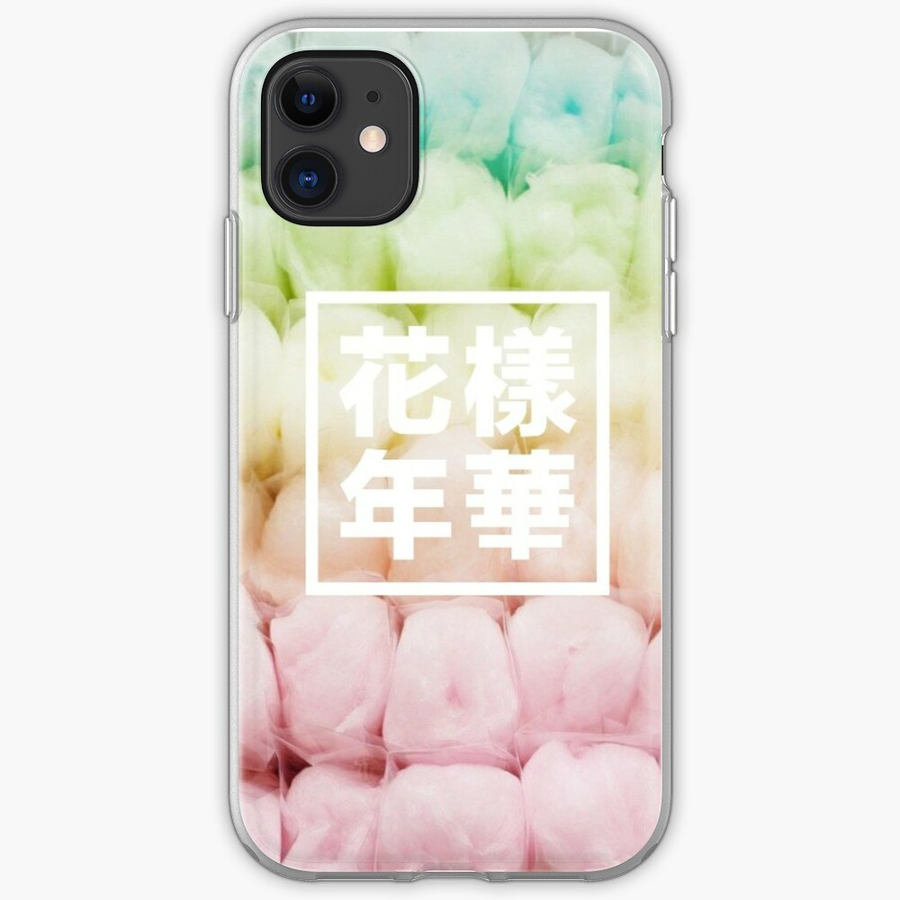 BTS Zuckerwatte iPhone-Hülle & Cover