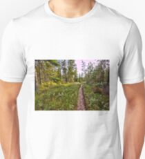 Keep yourself on track Unisex T-Shirt
