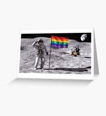 Out of this world - gay Greeting Card