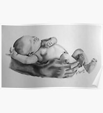 Safe in daddys arms Poster