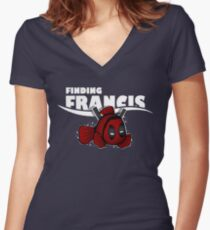 Finding Francis Women's Fitted V-Neck T-Shirt