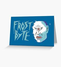 Gaming [C64] - Frost Byte Greeting Card