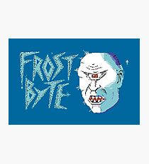 Gaming [C64] - Frost Byte Photographic Print
