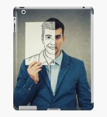 hide face expression iPad Case/Skin