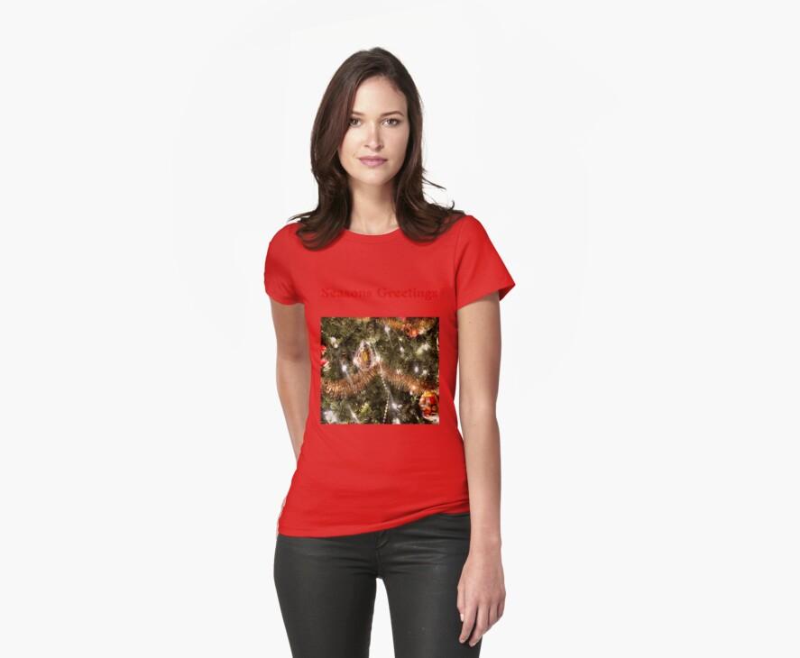 Seasons Greetings T-Shirt by hammye01