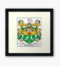 Dunphy Coat of Arms Framed Print